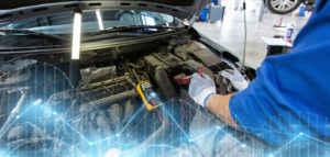 Arbeiten am Motorsteuergerät